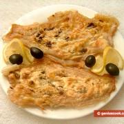 Filetti di pesce persico al forno