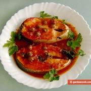 Salmone al pomodoro