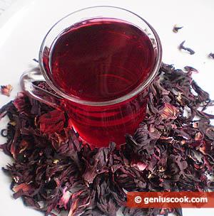 Tè carcadè (Karkadè)