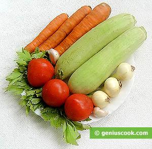 Ingredienti per i zucchini farciti