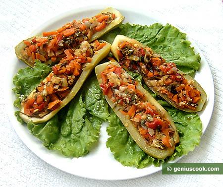 Zucchini farciti