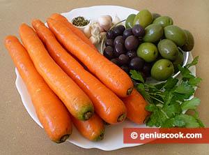 isalata di carote