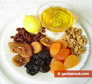 ingredienti crema frutta secca