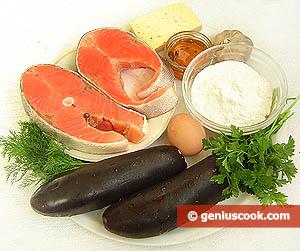 Ingredienti Pasticcio di salmone