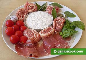 Ingredienti Santimbocca alla pizzaiola