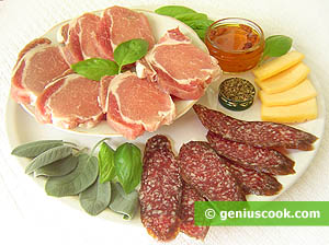Ingredienti Filetto di maiale