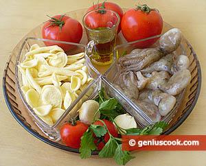 ingredienti - maritati in salsa di polpetti veraci