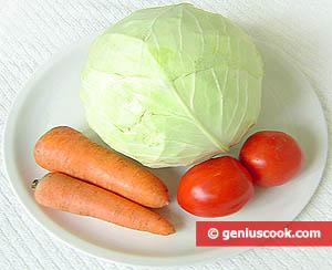 ingredienti crauto bianco all'insalata