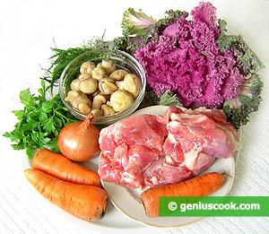 ingredienti - insalata con tacchino