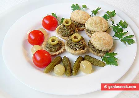 Crema di olive, capperi e mandorle