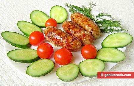 Salsicce fritte in padella