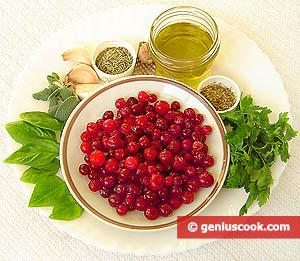 ingredienti salsa mirtilli