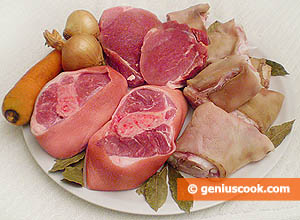 ingredienti carne in gelatina