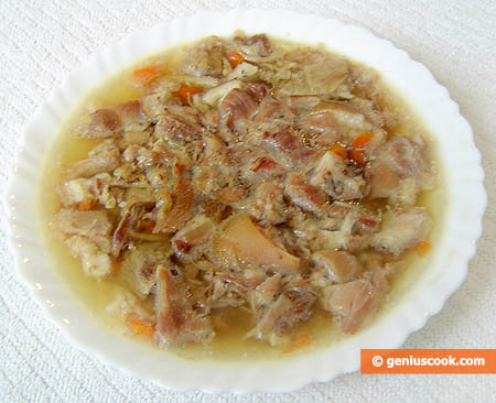 Carne in gelatina (Holodiets) .2