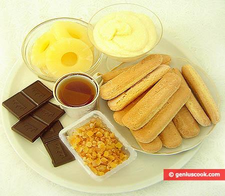 Ingredienti per il Tiramisù San Valentino
