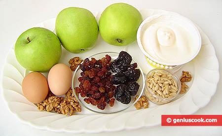 Ingredienti per la torta di mele