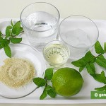 "Ingredienti per il cocktail ""Mohito"""