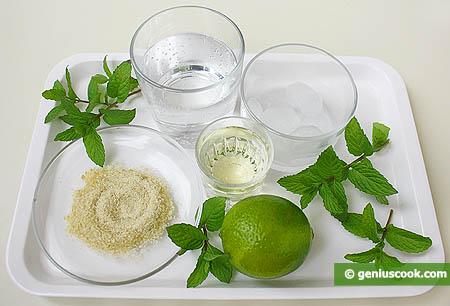 """Ingredienti per il cocktail """"Mohito"""""""