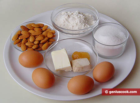 Ingredienti per i Cantucci