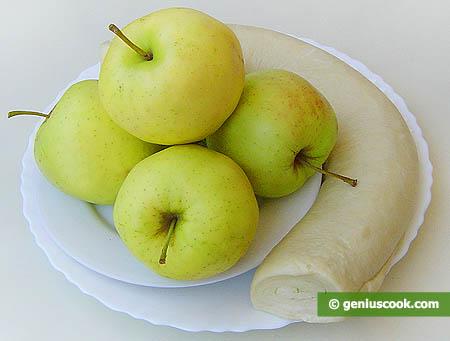 Ingredienti perle mele al forno in crosta croccante