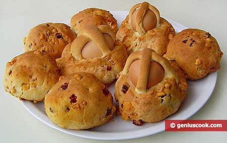 Panini al forno alla napoletana