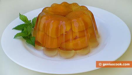 Albicocche in gelatina