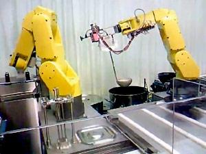 il robot cuoco