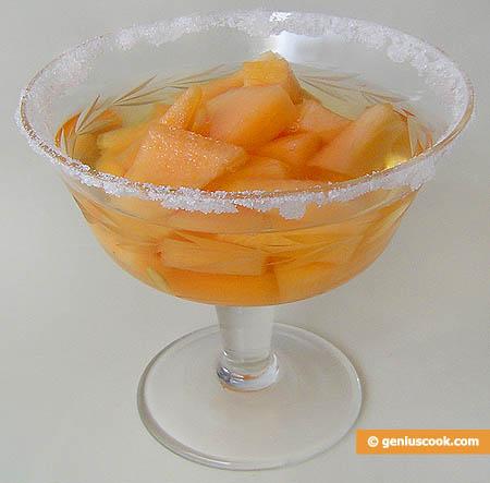 """coppa di """"Melone in vino bianco"""""""