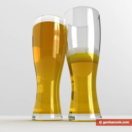 calici di birra