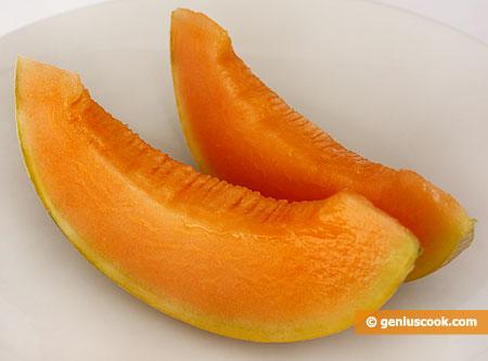 fette di melone retato