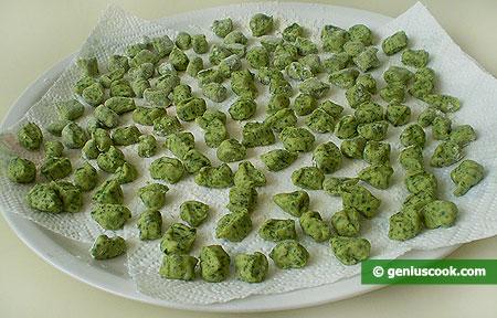 Gnocchetti di ricotta e spinaci