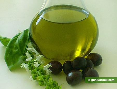 Olio d'oliva extravergine da prima spremitura a freddo