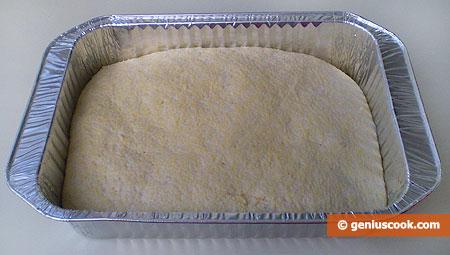 Panetto di impasto per il pane di mais