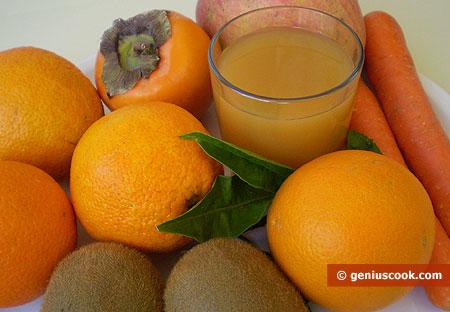 Frutti e succo di frutta, naturale