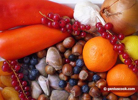 Prodotti alimentari che rafforzano il sistema immunitario