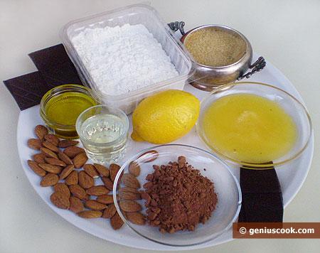 """Ingredienti per i """"Mustaccioli napoletani"""""""