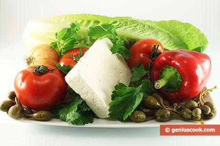Многие хозяйки не знают как приготовить Салат с каперсами и грибами...