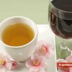 Tè verde e vino rosso