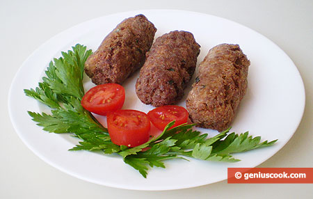 Crocchette saporite, di patate e carne trita