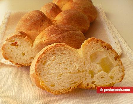 "Fetta di pane dolce d'Israele ""Challah"""