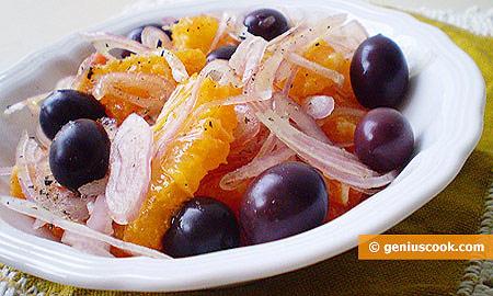 Insalata siciliana di arance e cipolle