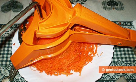 Ricette di come grattugiare le carote