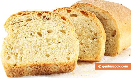 Pane bianco, fatto in casa