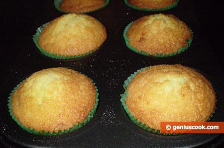 Muffin pronti, a fine cottura
