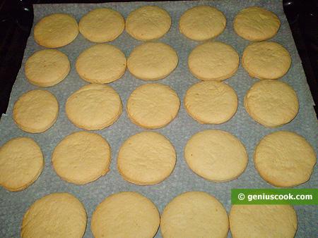 Biscotti dopo la cottura