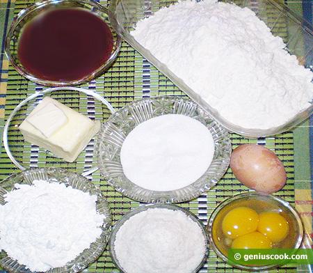 Ingredienti per i Biscotti argentini Alfajores