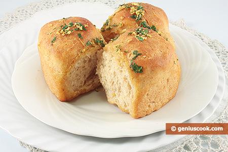 Panini all'aglio, Pampushki