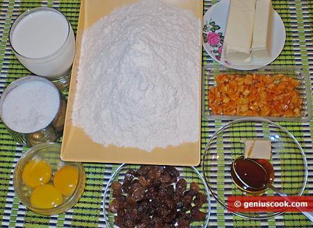 Ingredienti per la Torta Angelica