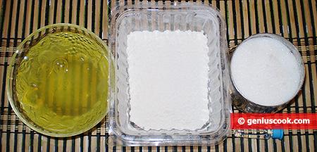 Ingredienti per il Pan degli Angeli