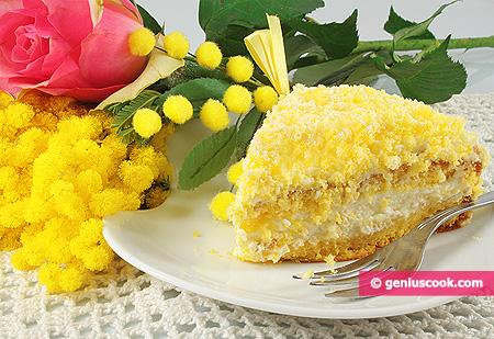 Fetta diTorta Mimosa
